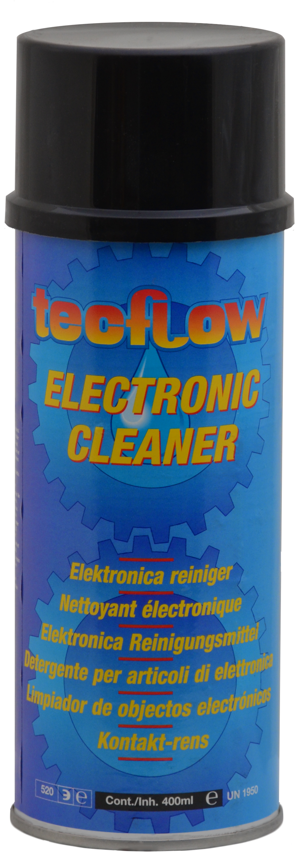 Electronic Cleaner Spray For Cleaning Contact Points Tecflow 1966